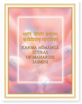 Karma Mimamsa Sutras